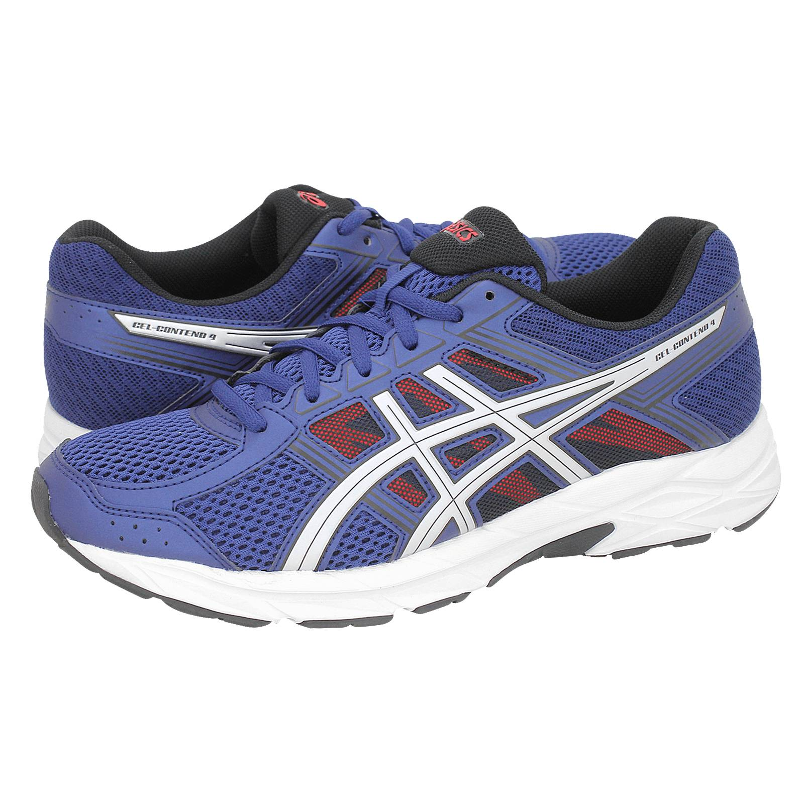 Gel-Contend 4 - Ανδρικά αθλητικά παπούτσια Asics από υφασμα και ... caff1bb19bf