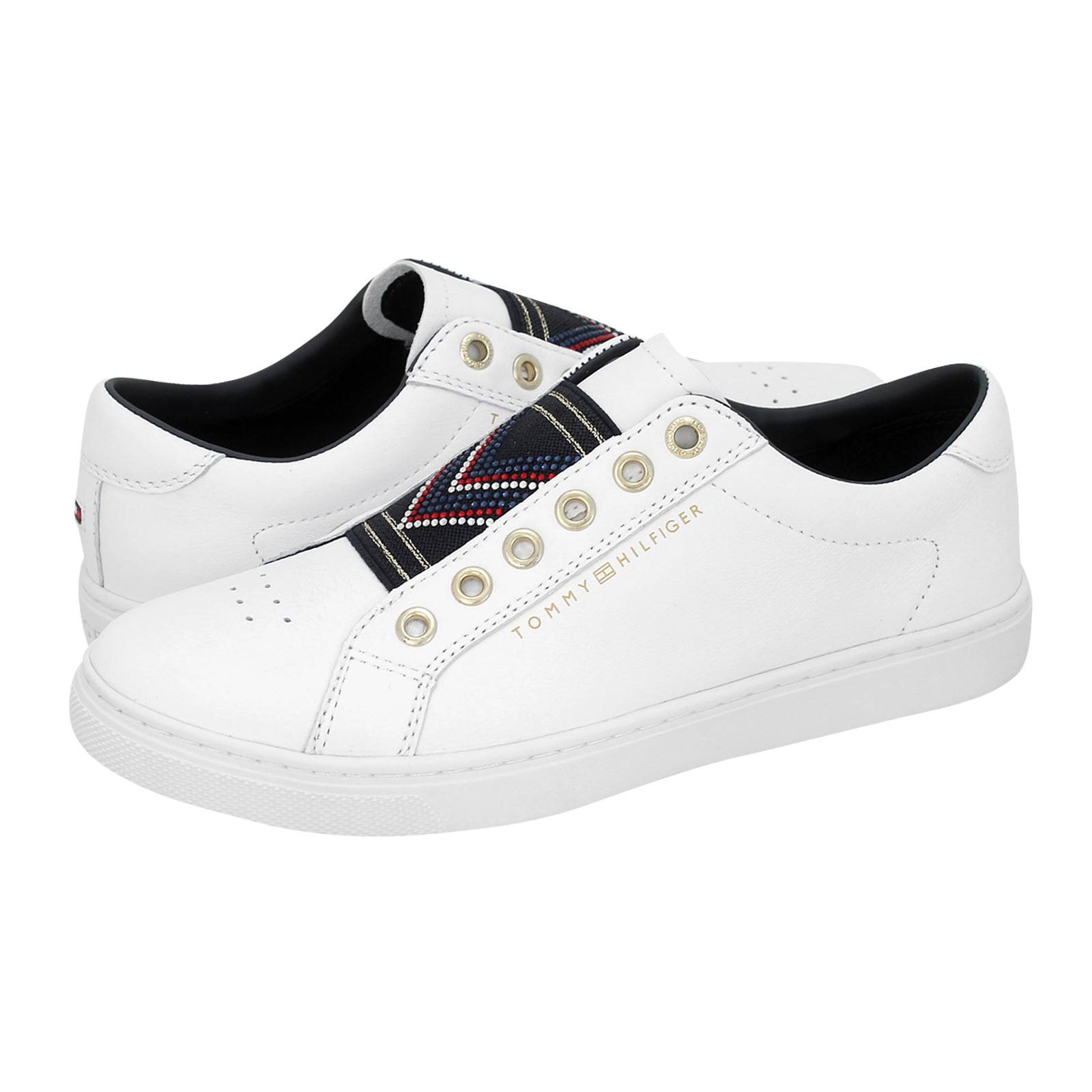 Stud Elastic Essential Sneaker - Γυναικεία παπούτσια casual Tommy ... bb5c0d39d02